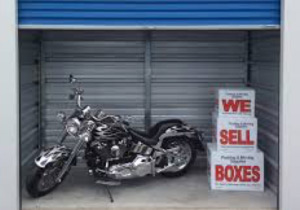 Larger motorcycles may require a 10 X 10